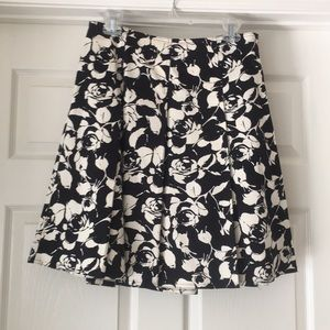 Women's skirt and sweater top